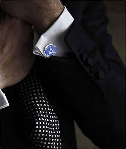 Custom Masonic Lodge Cufflinks