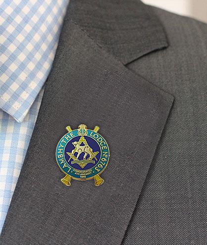 Custom Masonic Lodge Badges
