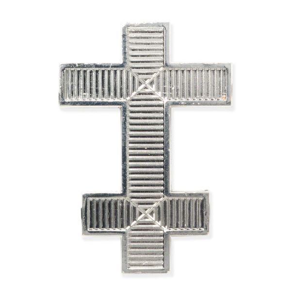 Knights Templar Perceptors Silver Cap Badge