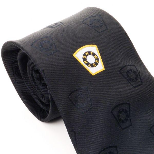 Mark Degree Silk Tie & Matching Cufflinks