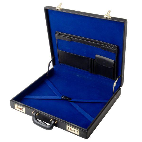 Masons Classic Real Leather Layflat Provincial Masonic Regalia Case