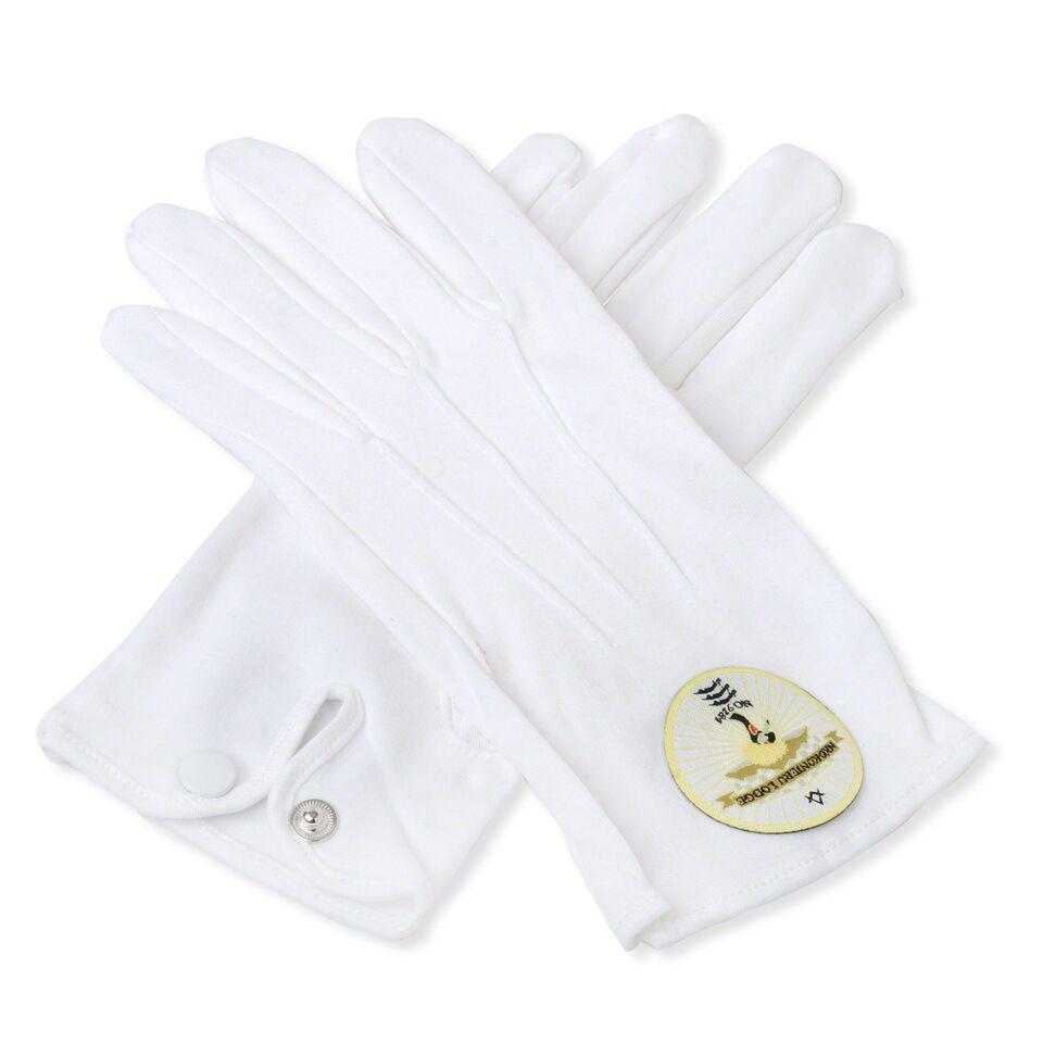 Custom Masonic Lodge Gloves